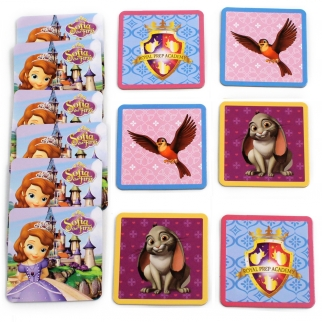 Disney Sofia the First Matching Game Cards Clover And Robin