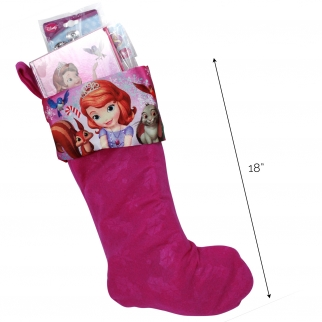 Disney Sofia the First Girls Christmas Stocking Stuffer Bundle (27 Piece)
