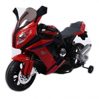 Sports Motorcycle 12V Kids Battery Powered Ride On Car in Red