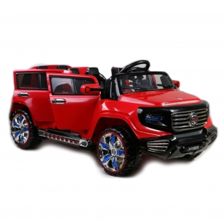 2 Seater SUV SX-1528 12V Kids Battery Powered Ride On Car in Red