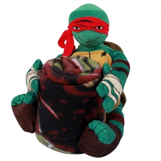TMNT Toy With Blanket