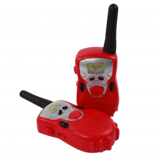 Red Walkie Talkies Kids Radio Play Set