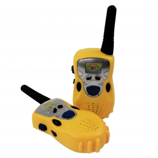 Yellow Walkie Talkies Kids Radio Play Set