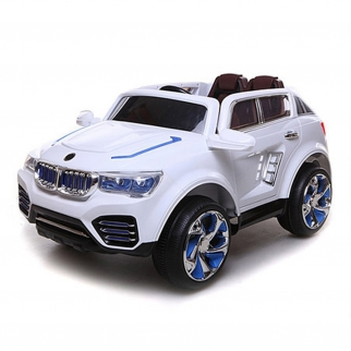 X-700 SUV 12V Kids Battery Powered Ride On Car in Black