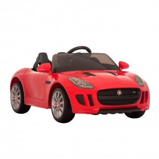 Licensed Jaguar F-Type 12V Kids Battery Powered Ride On Car Red