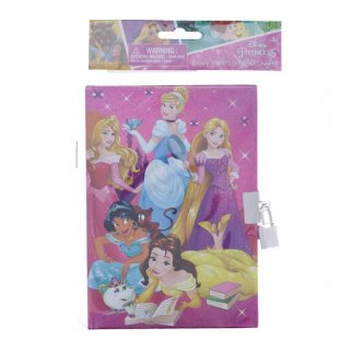 Disney Princess Diary in Poly Bog with Lock 50 Sheets