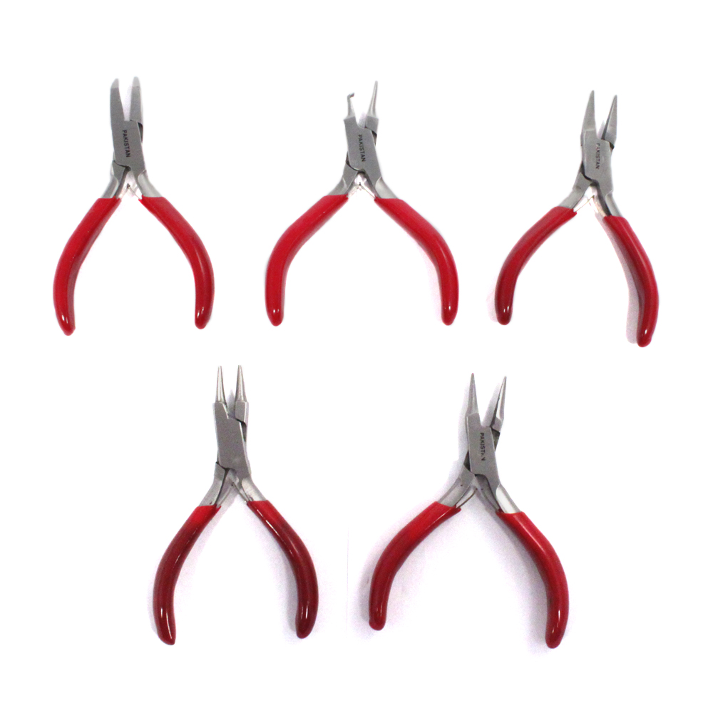 5pc Mini Jewelers Pliers Set 1