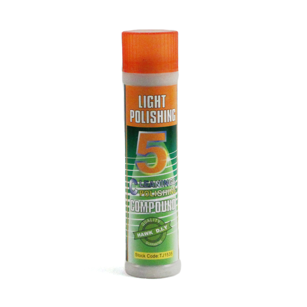 Light Gloss Metal Polish #5 Buffing Compound for Jewelry