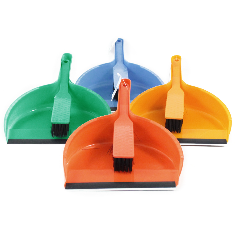 home kitchen garage dust pan quick clean up set dust pan brush with handle rubber maid oxo duster hand broom