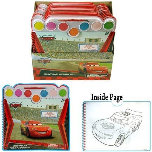 Disney Cars Paint & Design Coloring Book