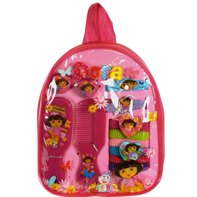 Dora the Explorer 11pc Hair Accessory Backpack