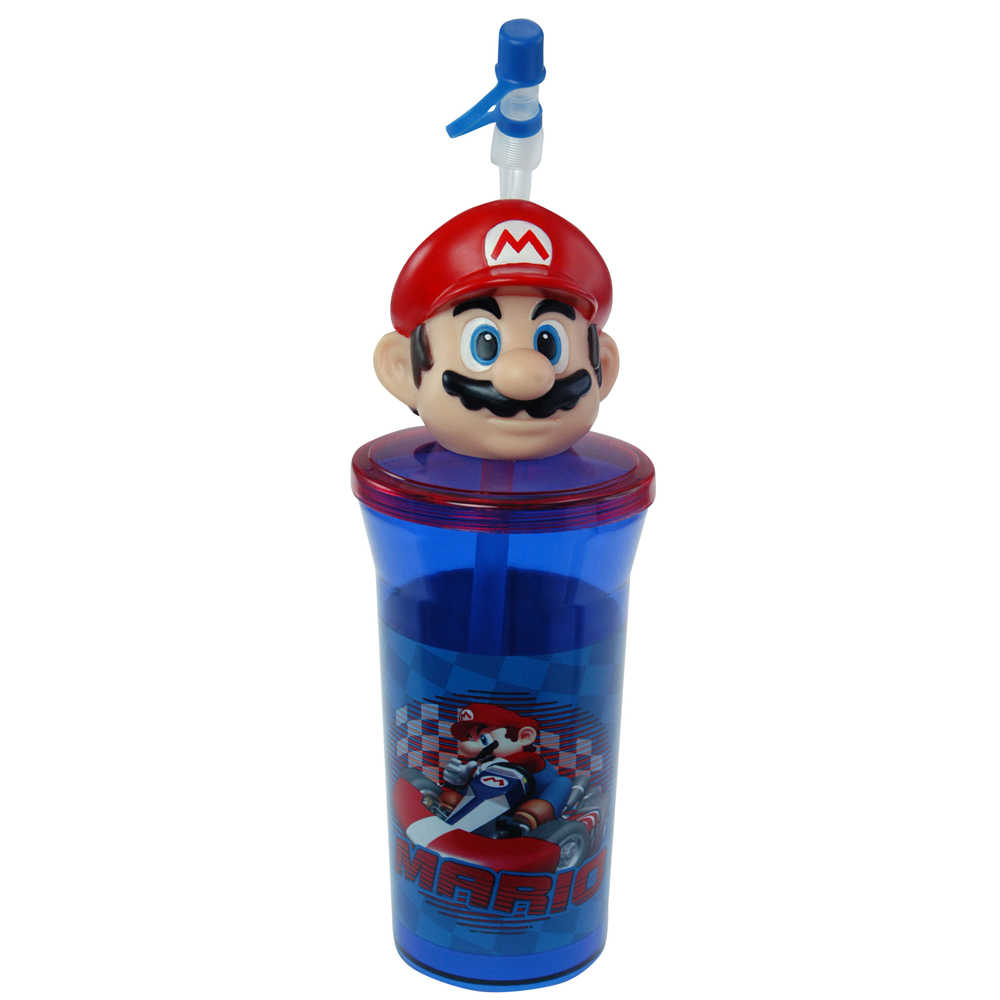 14oz Nintendo Mario Tumbler Glass