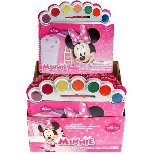 Disney Minnie Mouse Paint & Design Coloring Book