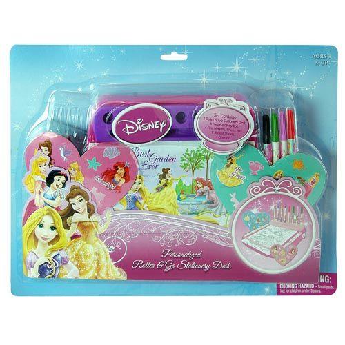 Disney Princess Activity Coloring Book Desk Set