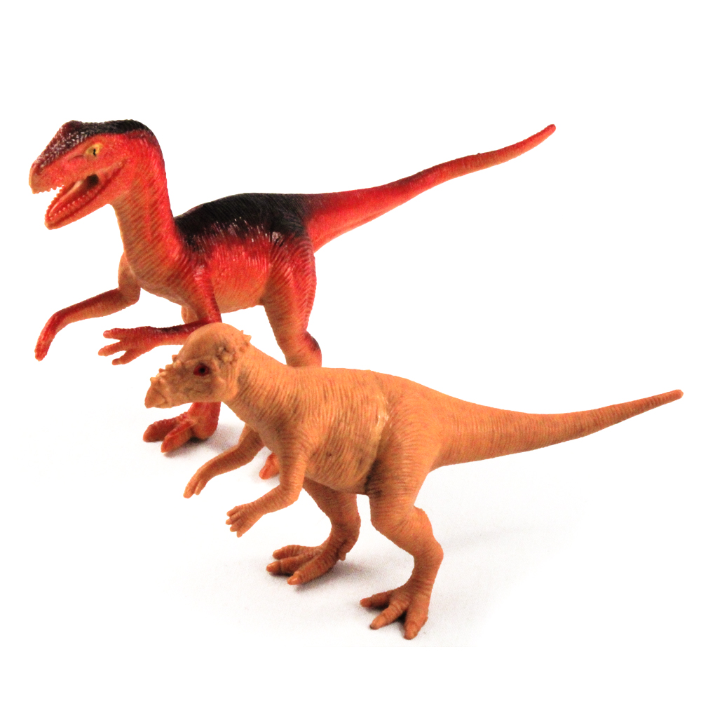 6pc Dinosaurs Action Figure Play Set