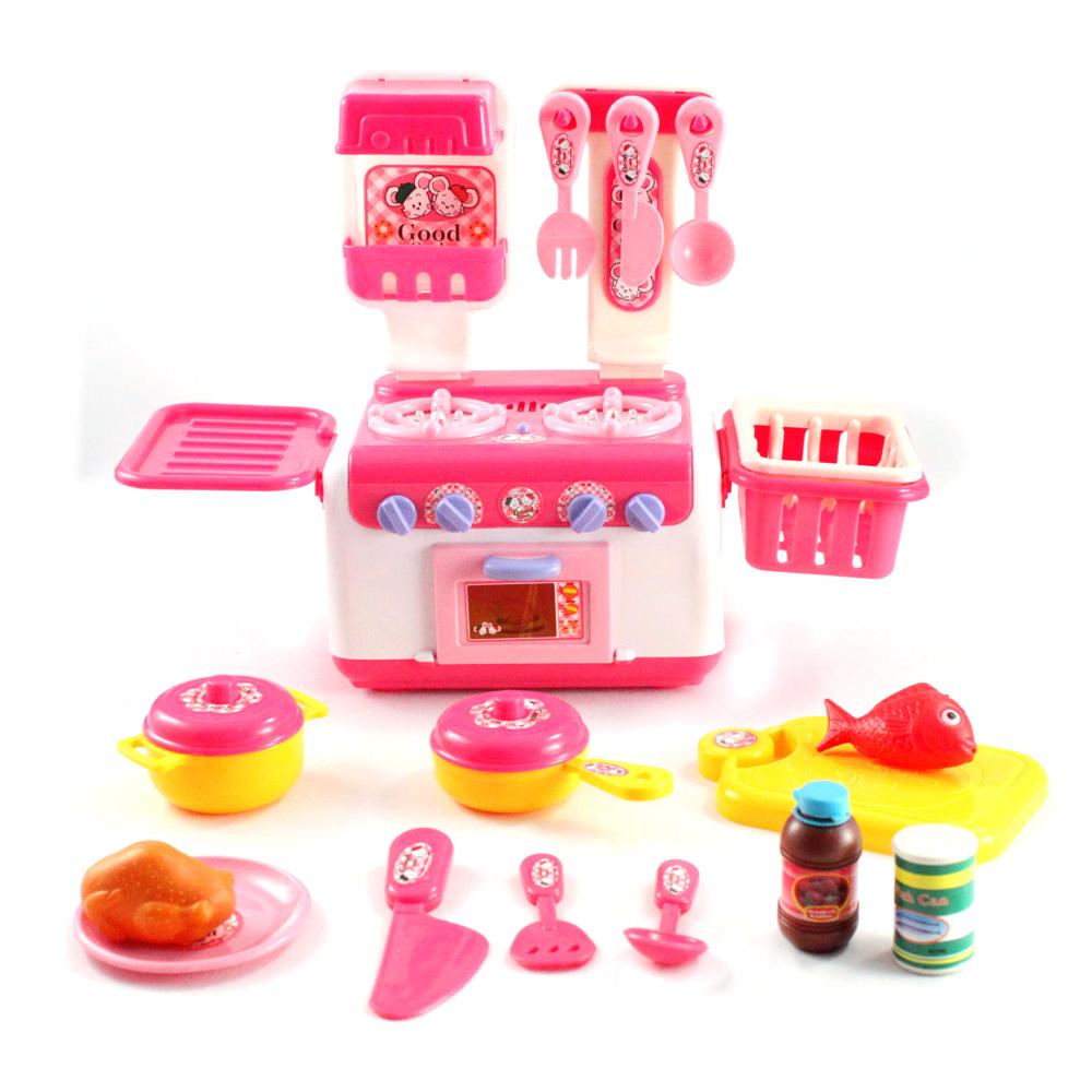 12pc pretend play kids kitchen set for Kitchen set games