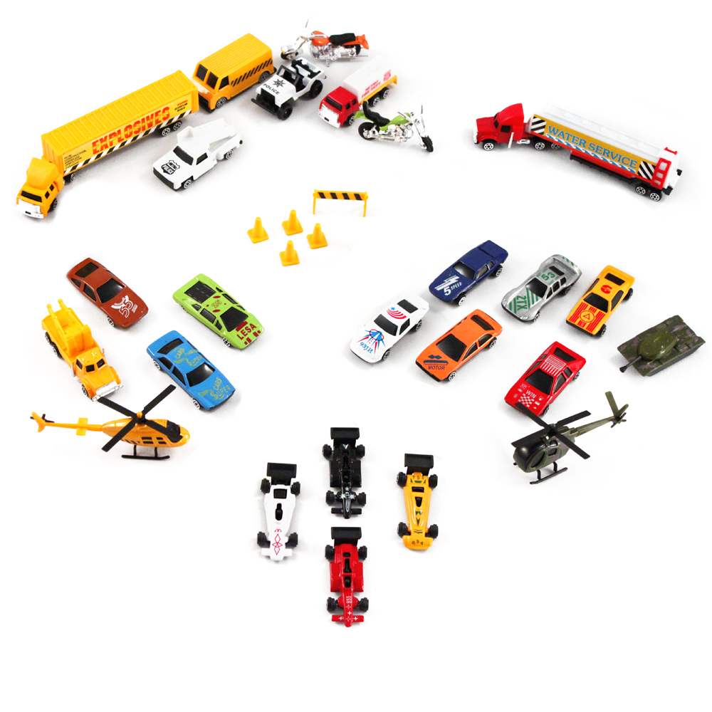 33pc Die Cast Set 1