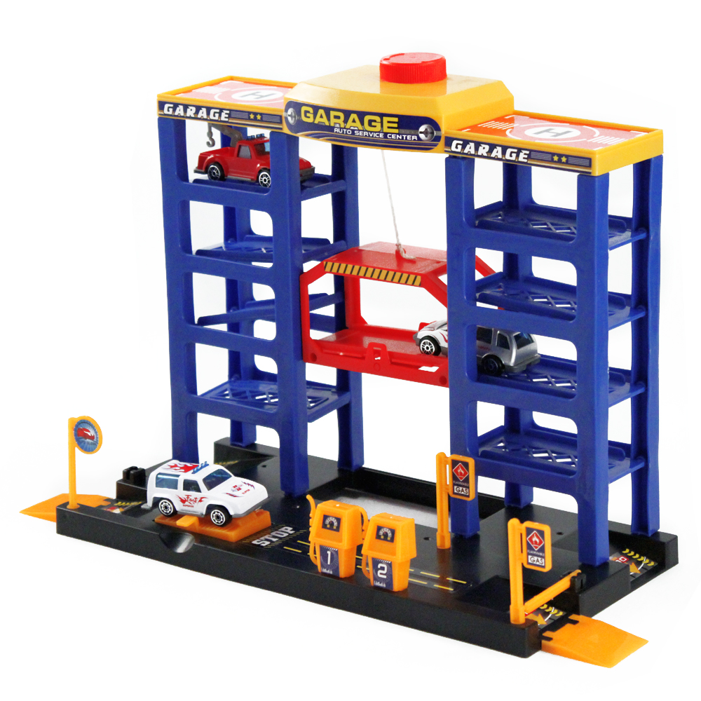 Deluxe Parking Tower Play Set