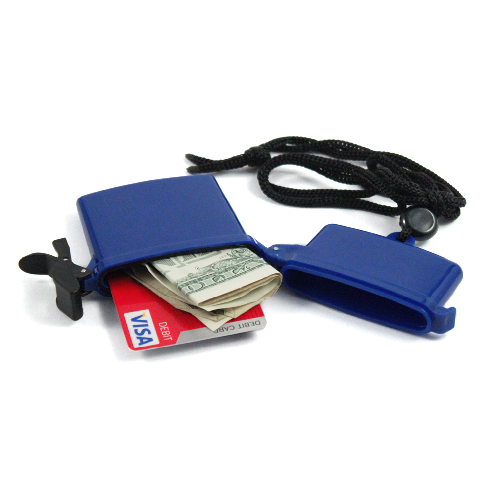 ASR Outdoor 4 Inch Small Waterproof Travel Credit Card Money Storage Container