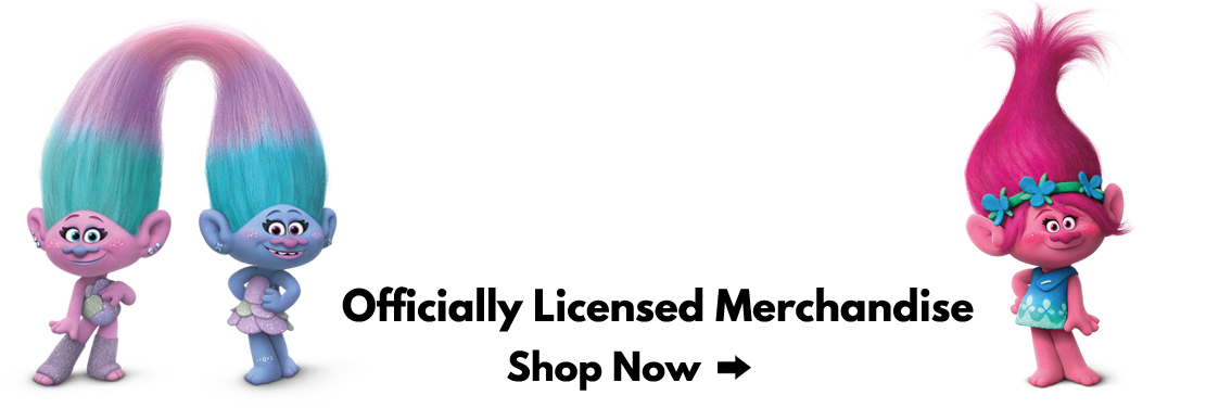 Get ready for the new Trolls movie with our officially licensed kids toys!
