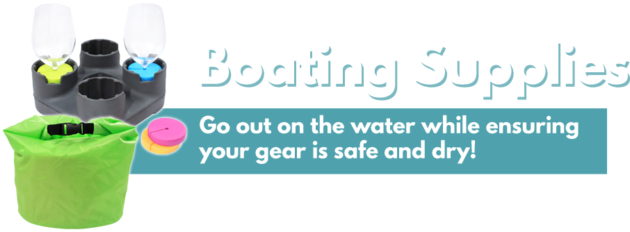 Keep your gear safe and hit the water with our boating collection!