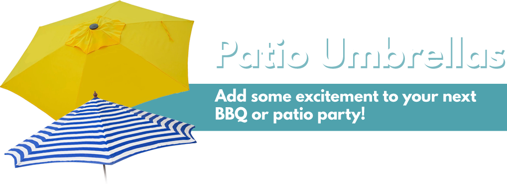 Shop now for some awesome patio umbrellas!
