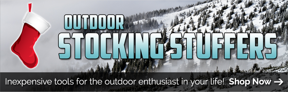 Discounted Outdoor stocking stuffers with black friday discounts and daily deals. Hot 2018 stocking stuffers