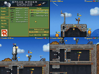 Four player splitscreen