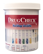 NxStep drug test cup