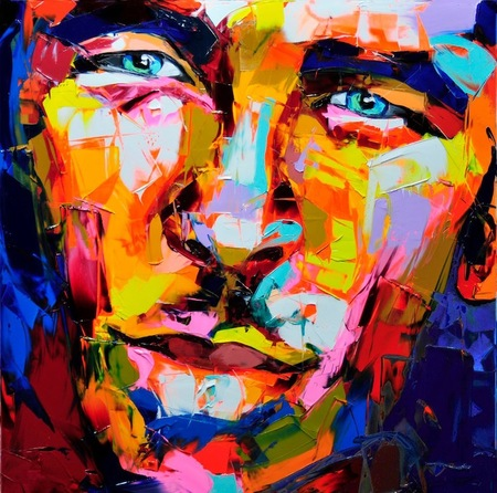 Thumb franc oise nielly presents palette knife paintings 2