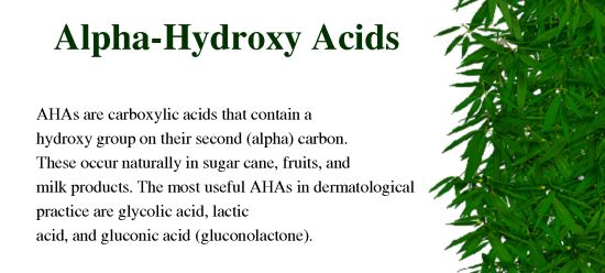 Dr. oz Alpha Hydroxy Acids