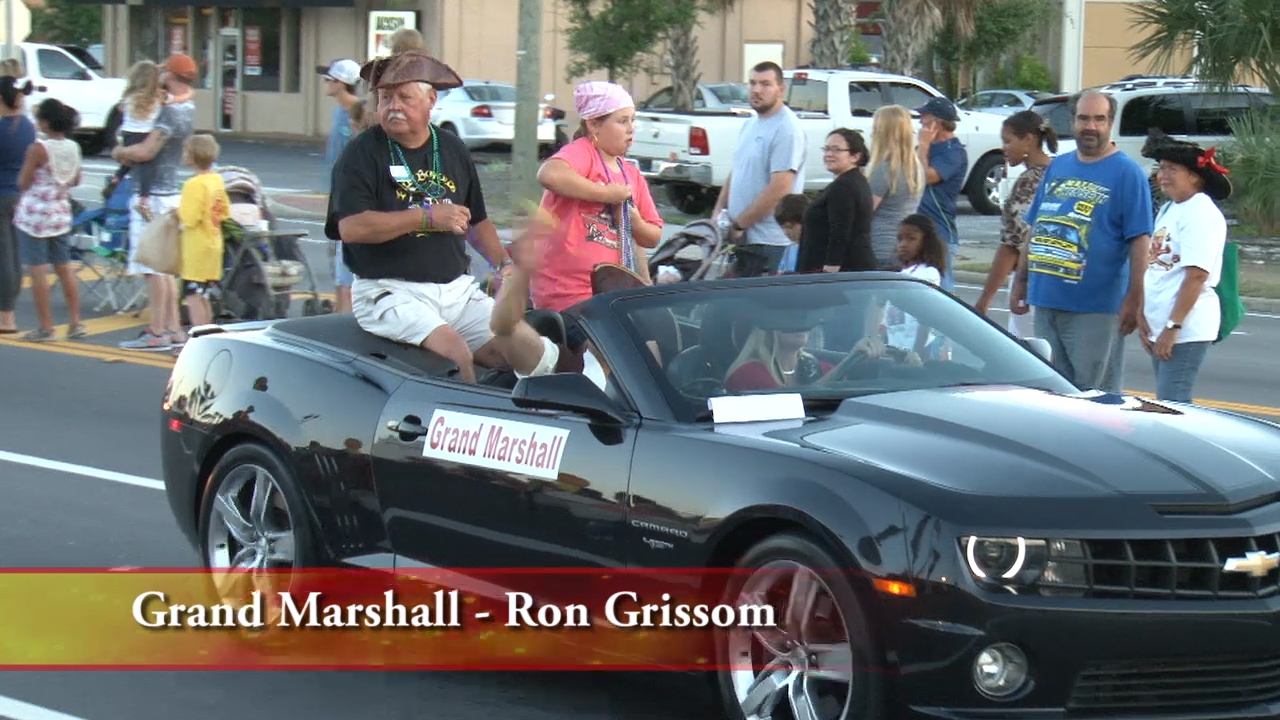Billy Bowlegs 2014 Torchlight Parade - Ron Grissom - Grand Marshall