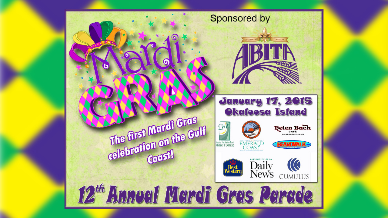 Abita Mardi Gras on the Island 2015 Parade Video