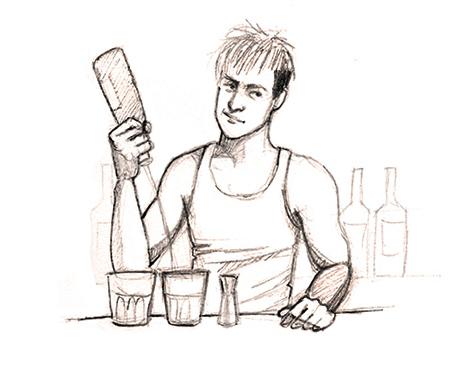 Sex bartender