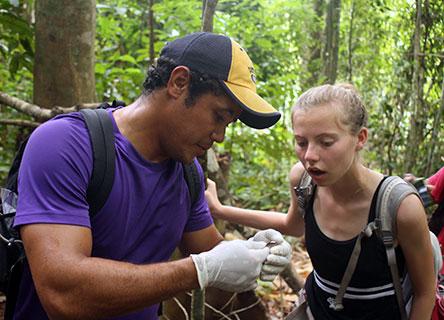 Fellows collecting data
