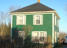 Nova Scotian fisherman's-style cottage