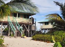 Tropical island acccommodation