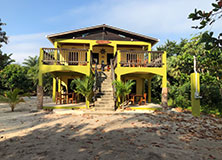 Tropical island acccommodation