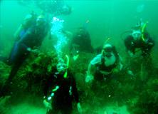 Scuba Diving, Belize Barrier Reef