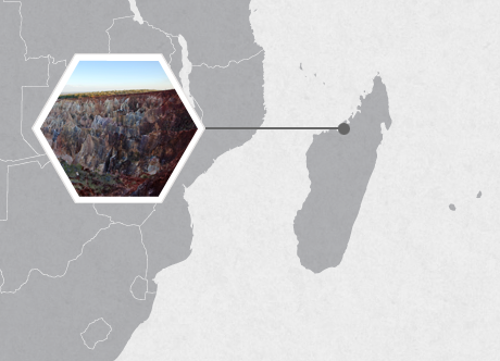 Carnivores of Madagascar - Map
