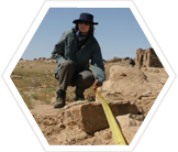 Archaeological survey, Ikh Nart Nature Reserve, Mongolia