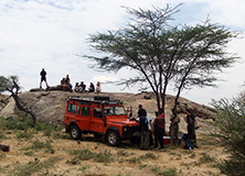 Earthwatch research team, Kenya, East Africa