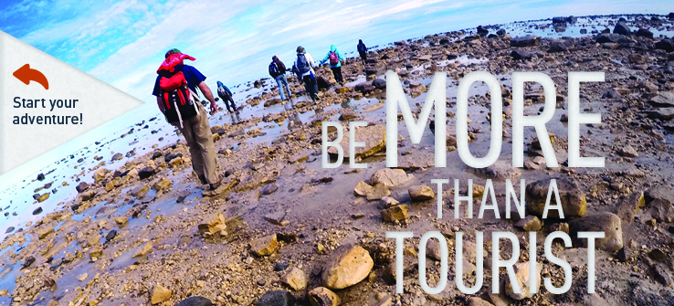Be More Than A Tourist