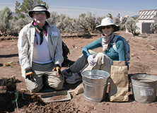 Crow Canyon archaeologists, Colorado