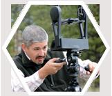 Earthwatch scientist, Dr. Josh Viers in the field