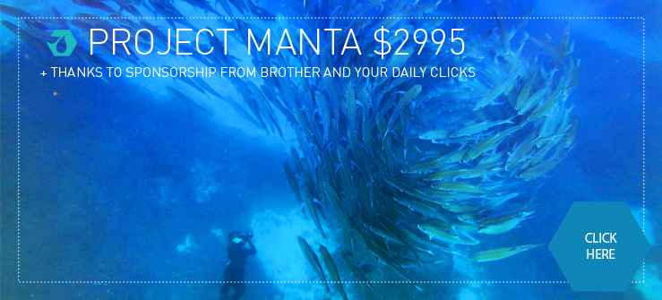 Click to donate to Project Manta