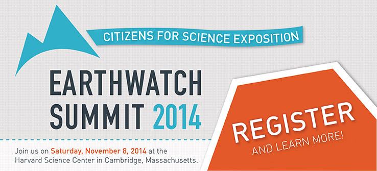 Earthwatch Summit 2014 at Harvard University.