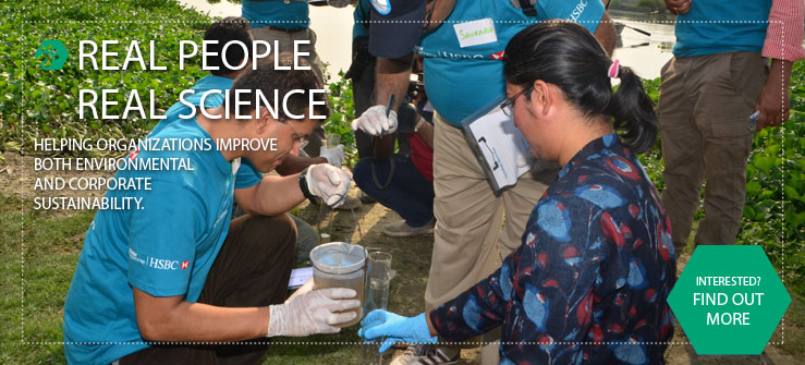 Real People. Real Science. Earthwatch corporate HSBC learning in India