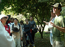 Dr. Lee Dyer and team of research volunteers in Costa Rica