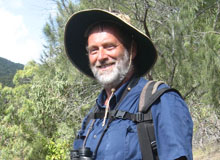 Alistair Melzer - Working on flora and fauna inventories on conservation and industrial lands.